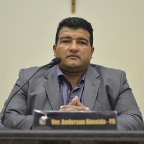 Vereador Anderson Almeida