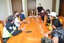 Agentes da STTRANS são recebidos pela presidência da CMS e relatam dificuldades para desenvolver suas atividades por falta de estrutura