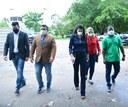 Após denúncias, comitiva de vereadores visita Hospital Estadual de Santana e constata situação de calamidade na saúde pública