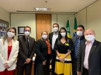CMS integra comitiva do Prefeito Bala Rocha na busca de recursos em Brasília