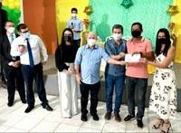 CMS participa da entrega oficial dos cartões do Programa Alimento na Mesa em Santana