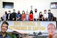 CMS RECEBE SENADOR RANDOLFE, QUE ANUNCIA 12 MILHÕES PARA CONSTRUÇÃO DO NOVO TERMINAL HIDROVIÁRIO DE SANTANA