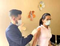 CMS segue incentivando a população a vacinar contra a Covid-19
