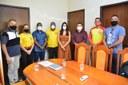 Comissão de Bombeiros civis é recebida pela presidência da CMS e sugere regulamentação da atividade em Santana