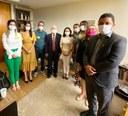 Comitiva CMS e PMS finalizam visitas à bancada federal, articulando emendas com a Deputada Marcivânia Flexa