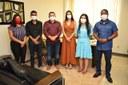 Equipe da Coordenadoria da Juventude entrega para presidência da CMS, projeto psicossocial que pretende atender jovens em Santana