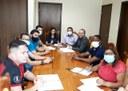 Mesa diretora da CMS reúne com vereadores para detalhar a formação das comissões para a 9ª Legislatura
