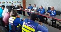 Presidente da CMS se reúne com sindicato de mototaxistas