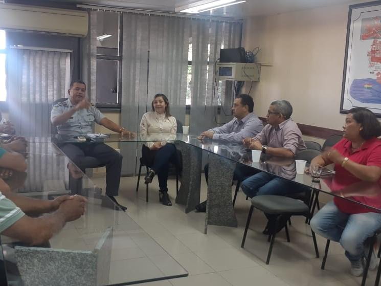 """Reunião entre Presidente da CMS e PM resulta em Operação """"Check-Point"""" nas ruas da Santana"""