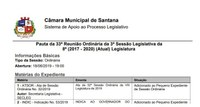 Santana é o Primeiro Legislativo Municipal do Amapá a contar com Pauta Online