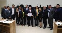 Sessão desta quinta (29/11) da CMS será dedicada à entrega de Títulos de Cidadão Santanense