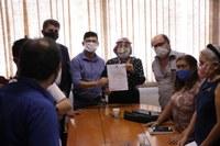 Vereadores de Santana e Conselho Municipal de Cultura se reúnem pra discutir Projeto de Lei