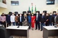 Vereadores participam de solenidade, onde o Ministro do MDR anunciou investimentos para Santana