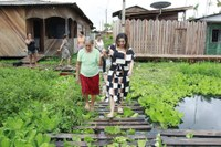 Vereadores visitam áreas alagadas pela forte chuva