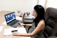Videoconferência estabelece detalhamento para implantação da Procuradoria da Mulher na CMS